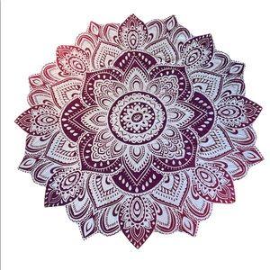 Lotus Shaped Tapestry